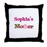 Sophia's Mother Throw Pillow