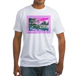 A Trailer Park Girl Fitted T-Shirt