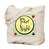 Retro Poker Tote Bag