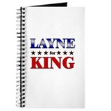 LAYNE for king Journal