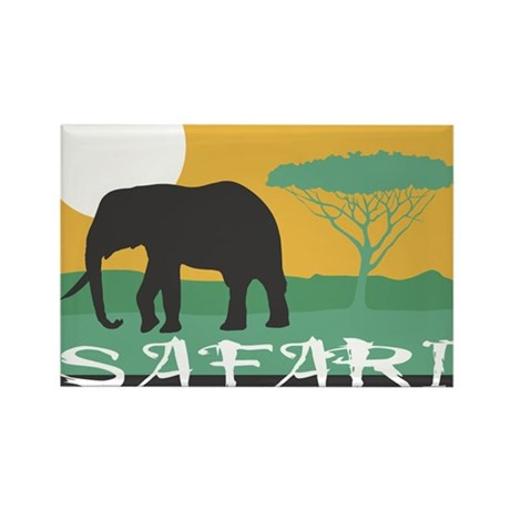 SAFARI Rectangle Magnet (100 pack)