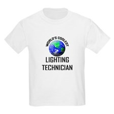 World's Coolest LIGHTING TECHNICIAN T-Shirt