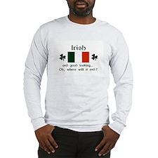 Good Looking Irish Long Sleeve T-Shirt