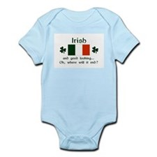 Good Looking Irish Infant Bodysuit
