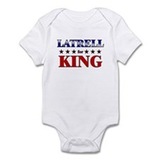 LATRELL for king Infant Bodysuit