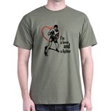 Lover & Fighter Military Green T-Shirt