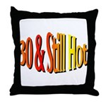 30th Birthday Throw Pillow