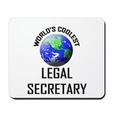 World's Coolest LEGAL SECRETARY Mousepad