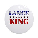 LANCE for king Ornament (Round)