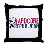 Hardcore Throw Pillow