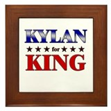 KYLAN for king Framed Tile