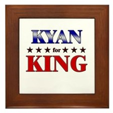 KYAN for king Framed Tile
