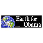 Earth for Obama bumper sticker