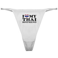 I Love My Thai Boyfriend Classic Thong