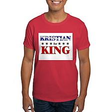 KRISTIAN for king T-Shirt