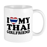 I Love My Thai Girlfriend Small Mug