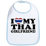I Love My Thai Girlfriend Bib