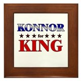 KONNOR for king Framed Tile