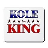 KOLE for king Mousepad