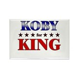 KOBY for king Rectangle Magnet (10 pack)