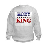 KOBY for king Sweatshirt