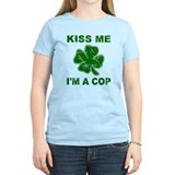 Kiss Me, I'm a Cop T-Shirt