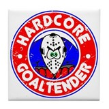 Hardcore Goaltender Tile Coaster
