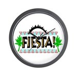 Fiesta Wall Clock