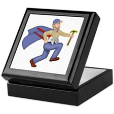 Maintenance Man Keepsake Box