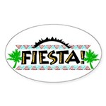 Fiesta Oval Sticker