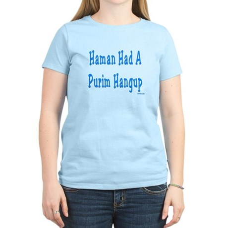 Haman had a Purim Hangup Women's Light T-Shirt