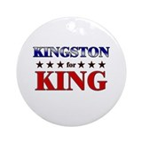 KINGSTON for king Ornament (Round)