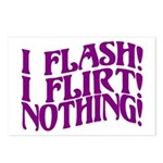 Flirty Flasher Postcards (Package of 8)