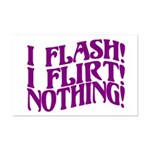 Flirty Flasher Mini Poster Print