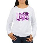 Flirty Flasher Women's Long Sleeve T-Shirt