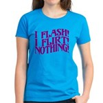 Flirty Flasher Women's Dark T-Shirt