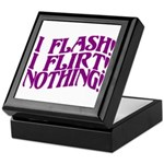 Flirty Flasher Keepsake Box