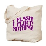 Flirty Flasher Tote Bag