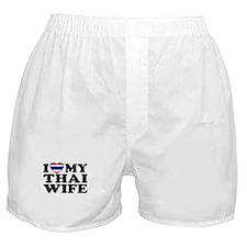 I Love My Thai Wife Boxer Shorts