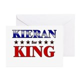 KIERAN for king Greeting Cards (Pk of 10)