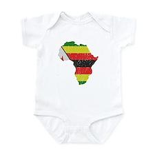 Zimbabwe Africa Infant Bodysuit