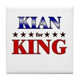 KIAN for king Tile Coaster