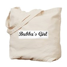 Bubba's Girl  Tote Bag