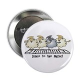 "Sheep Chorus Line 2.25"" Button"