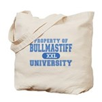 Bullmastiff University Tote Bag