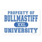 Bullmastiff University Postcards (Package of 8)