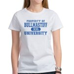 Bullmastiff University Women's T-Shirt
