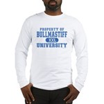 Bullmastiff University Long Sleeve T-Shirt