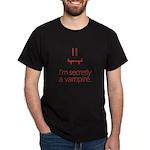 Vampire Smiley Dark T-Shirt