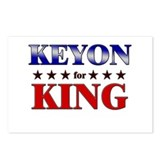 KEYON for king Postcards (Package of 8)
